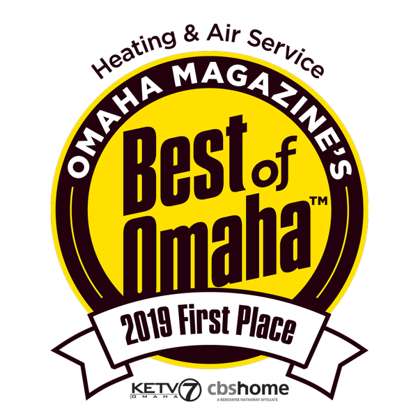Best Of Omaha 2019 Heating Air Service First Place