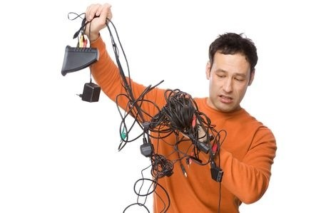 guy with wires