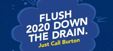 Flush 2020 Down The Drain